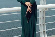 Langarmet kjole