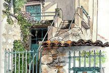 Ulice (maľby )