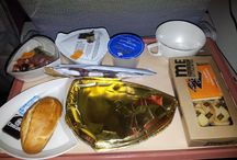 In the sky / All the halal dishes that you can eat with majors airlines companies