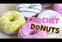 video  crochet donuts