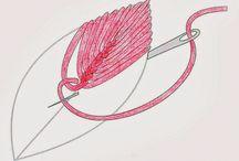 вышивка швы