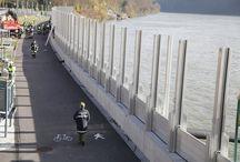 flood-wall-grein-danube-austria