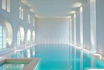 Swimming Pool Lighting / Swimming pool lighting design by John Cullen Lighting