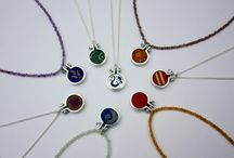 Hoop / Gorgeous collection featuring silver, wood, beads and recycled sari fabrics, based on traditional embroidery hoops...
