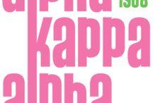 All Things AKA / Everything associated with Alpha Kappa Alpha Sorority, Inc. / by MsKit Kat