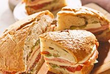 Mouth Watering Sandwiches