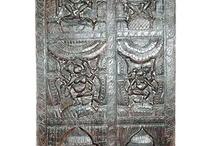 Ganesha Carved Door