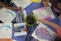 Art Therapy / Inspiring art therapy activities.