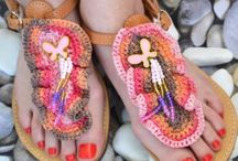 Handmade Sandals / Handmade sandals from Greek artists