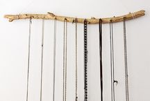 jewelry decor / Ideas for decorating with/displaying jewelry.