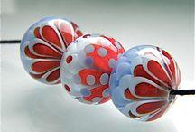 Etsy Shop: CarolineDousi / I sell handmade Lampwork glassbeads in my Etsy Shop.
