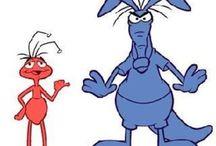 ant and the aardvark cartoons