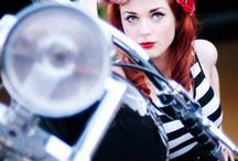 Rockabilly pin up girls