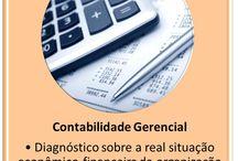 Contabilidade Gerencial / Diagnóstico sobre a real situação econômico-financeira da organização, utilizando os relatórios contábeis e outras informações necessárias para análise.