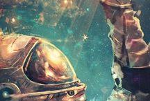 Astronauts & Deep sea divers