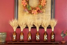 Thanksgiving/ Christmas decor! / by Lea' Peregrine