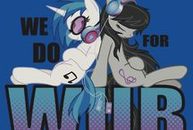 MLP! Music,Videos,and episodes / The music you love of mlp shows and fan made music -Vinyl Scratch-