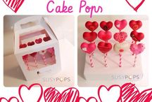 Valentine's Day cake pops by SusyPops / Valentine's Day cake pops by SusyPops