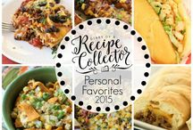 FOOD * ROUND-UP OF PERFSONAL FAVORITES / Some of my personal favorites and from my friends over the years / by Janice Maiolatesi