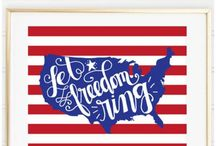 4th of July DIY Crafts and Projects / Celebrate 4th of July with these DIY Crafts and Projects