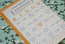 Kasia's Bridal Shower / Good Idea for a bingo game!