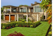 Amazing two story homes .