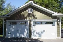Detached Garage | Garage Détaché / All models of garage doors for your detached garage. #garagedoor #detachedgarage  Tous les modèles de portes de garage pour votre garage détaché. #portedegarage #garagedetache / by Garaga Inc.