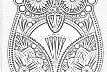 Mandala Meditation and Colouring Pages