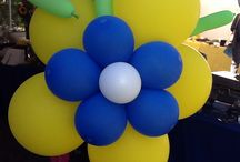 Balloon decor / Our professional balloon artists can create displays that match your theme.