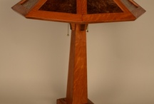 """Saugatuck Mission Reading Lamp / Saugatuck Mission Reading Lamp 26"""" high, 21"""" wide"""