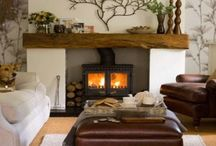 Adaptation of existing fireplace