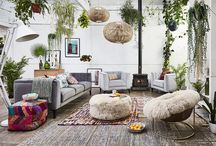 South American / scandi interior