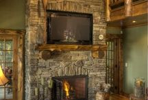 Log Home and Country Living / I live in a log home and love living in the country! Here are some images that I love... / by John Kiss