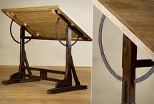 Drafting tables / Manual drafting is liberating / by Michael Bell