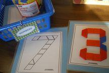 Kindergarten Math Centers...