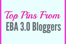 Top Pins From EBA 3.0 Bloggers / This is a shared collection of pins for members of Elite Blog Academy 3.0 to share their best content (All Pins must follow Unit 2 pillar content and Unit 3 image guidelines) Pin your best recipes, parenting, travel, beauty, fashion, home decor, fitness and more!  Email me jennyropson@gmail.com to join! Please limit pins as not to spam and repin others!