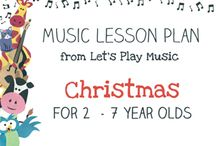 Let's Play Music Lesson Plans / Themed lesson plans, full of fun musical activities with detailed teaching notes and printable resources.