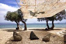 Poofomania on the beach / Πουφ δίπλα από τη θάλασσα