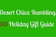 2013 Holiday Gift Guides Around the Web / Find some great Holiday Gift ideas from Bloggers around the web and #giveaways too / by Shelly