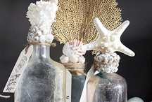 Shabby chic bottles