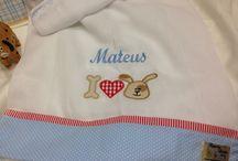 Enxoval para babys - Kit Mateus / artigos fofos e personalizados para bebês