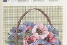 cestas y flores