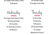 Fitness Challenge / All the challenges i should conquer!