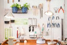 Organising studio space
