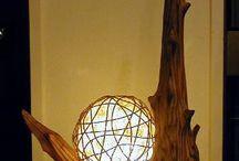 drivved og lamper