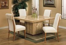 FURNITURE_Square Dining Table