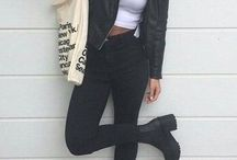 chunky boots outfit