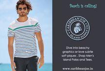Men's Fashion Wear / Men's Casual Wear, Resort and Ocean Wear Collections by #caribbeanjoe
