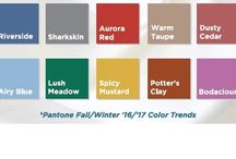 Top Color Trends for Fall 2016