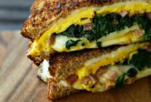 Grilled Cheese / Recipes with a twist on classic grilled cheese sandwiches